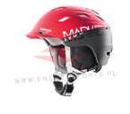 Kask Marker Ampire 2Block Red/Steel Grey 16/17