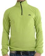 Polar Quiksilver Aker Half Zip Dirty Lime