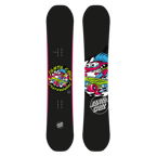 Deska snowboard Santa Cruz Grommet Black junior