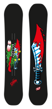 Deska snowboard Santa Cruz Slasher Black 2020