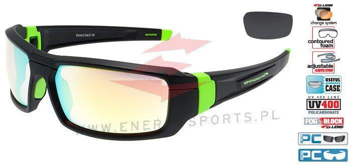 Okulary przeciwsłoneczne Goggle T414 2 | MODA LATO