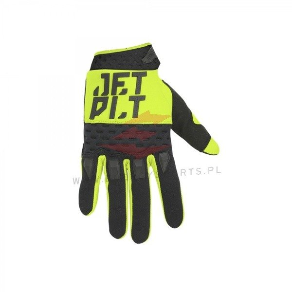 Jetpilot rękawice Matrix Race Full Finger YELLOW 2019