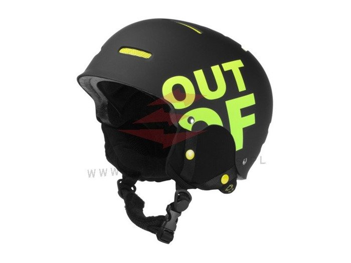 Kask Out Of WIPEOUT Black Green