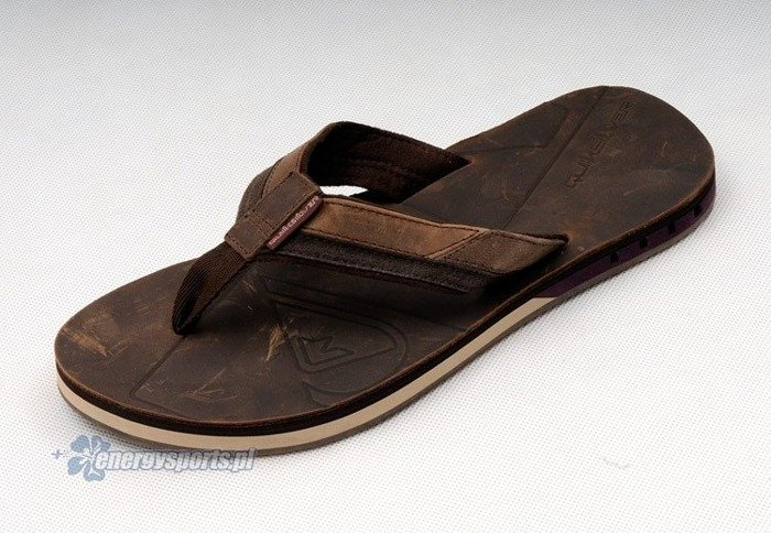 Klapki Quiksilver Hiatus Brown Tan Wine