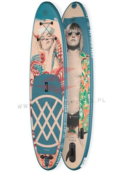 deska pompowana Anomy Sup - The way of Tito Merello 10'6
